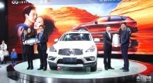 2015宁波国际汽车博览会东风英菲尼迪QX50上市